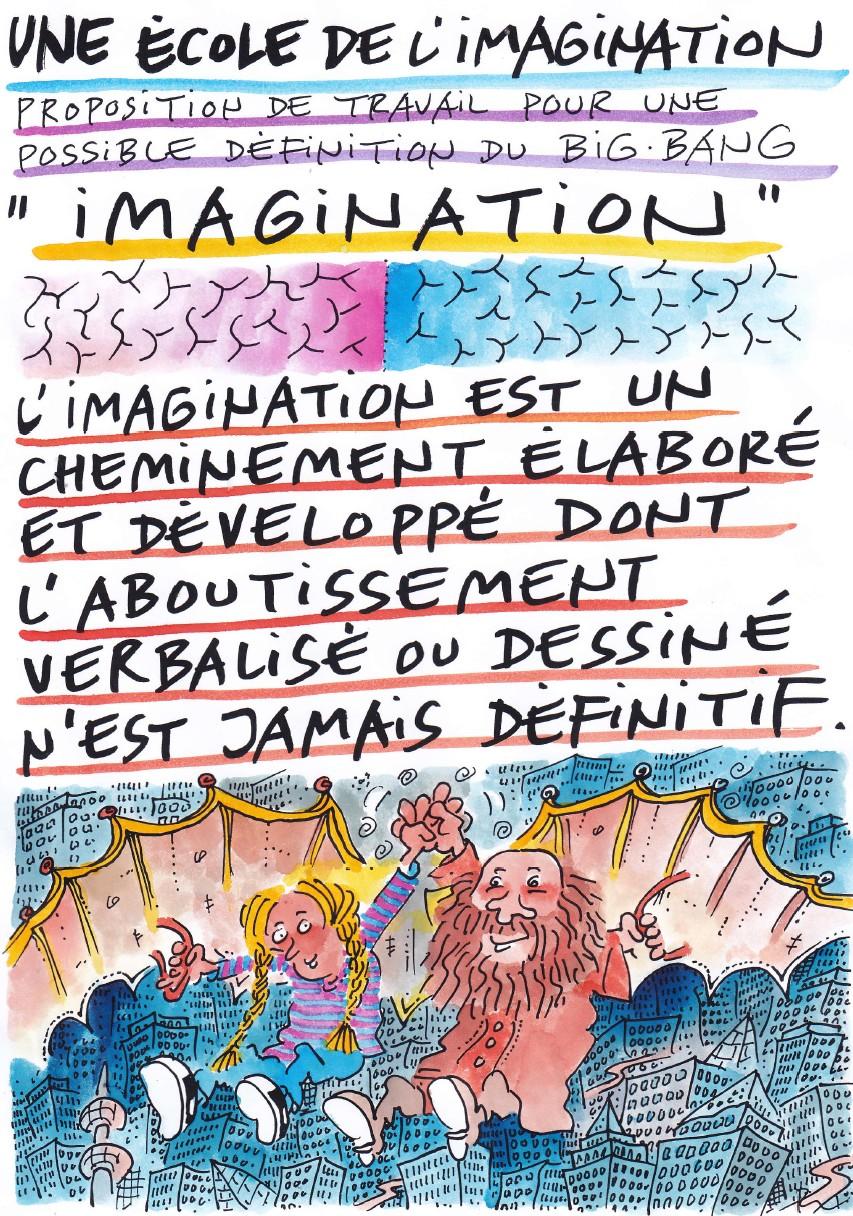 Une première définition de l'imagination