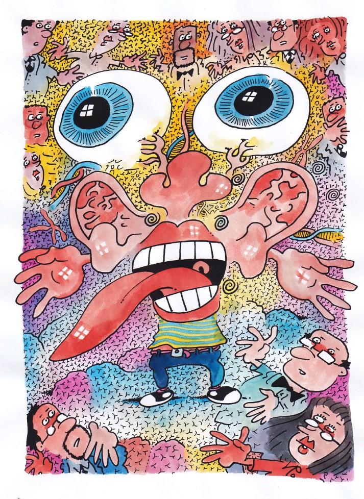 L'enfant hyper sensoriel ,l'enfant volcan à questi...