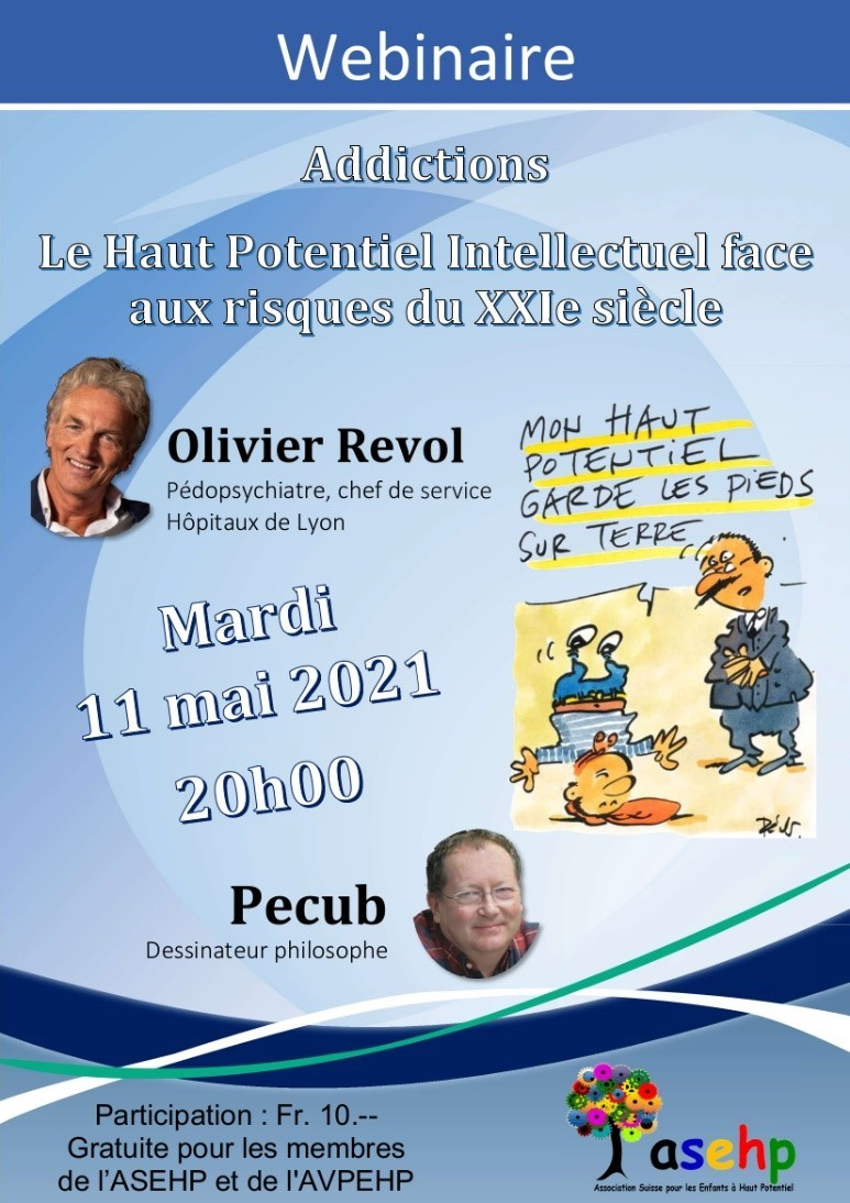 CONFERENCE ASEHP - Addictions - Le Haut Potentiel...