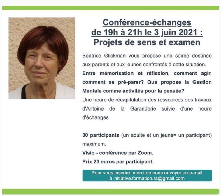 Conférence Zoom IF Rhône Alpes